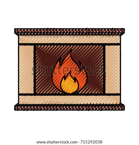 stone fireplace clipart. stone bricks home family fireplace christmas hearth with burning fire clipart f