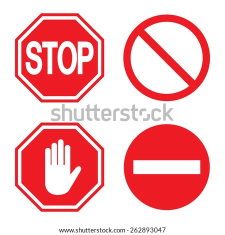 Warning Pictogram Stock Images Royalty Free Images