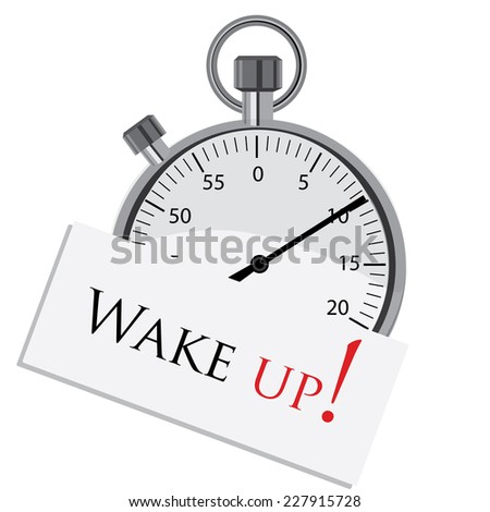 Stopwatch, stopwatch vector,deadline,wake up, stopwatch icon - stock vector