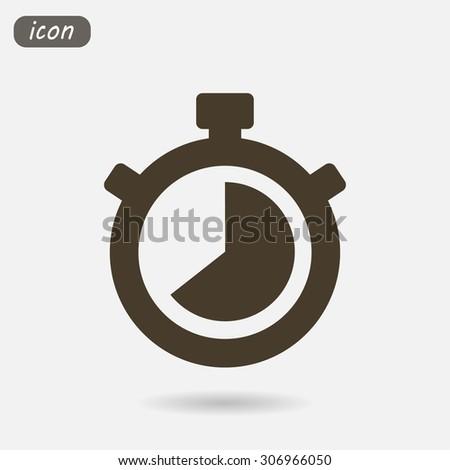 Stopwatch Vector icon 10 EPS - stock vector