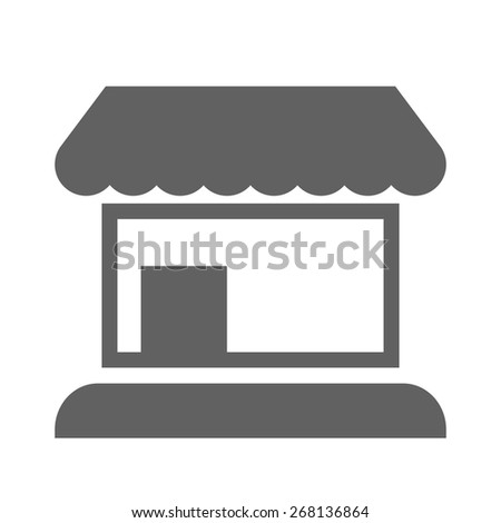 Store, shop, market icon vector image. Can also be used for eCommerce, shopping, business. Suitable for web apps, mobile apps and print media. - stock vector