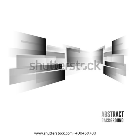 Straight colorful lines abstract vector background