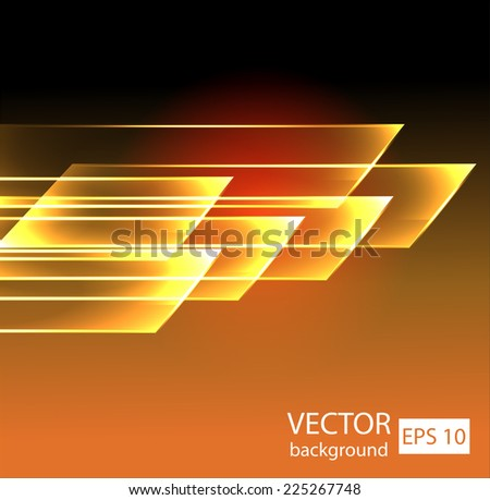 Straight lines abstract vector background - stock vector