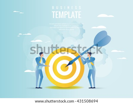 Strategy planning concept - stock vector