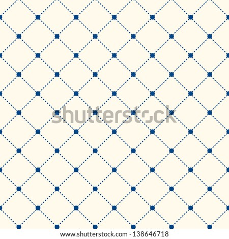 Stripe Seamless Pattern with Rhombus Structure. Vector Background or Texture - stock vector