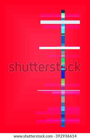 stripe vector colorful concept pattern modern graphic