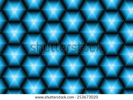 striped background of the polygons