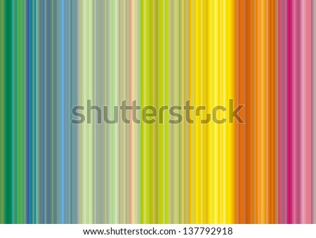 Striped multicolor background - stock vector