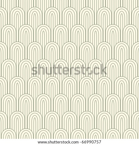 striped pattern in art nuvo style - stock vector