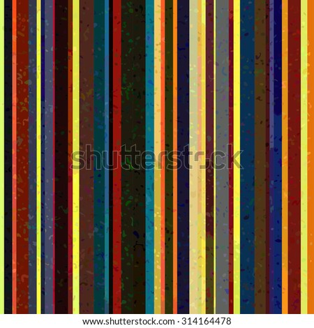 striped pattern with vintage dirty.  Vector modern ornamnt illustration.