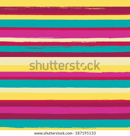 Striped seamless vector pattern. Can be used for textile, wallpaper, wrapping paper.