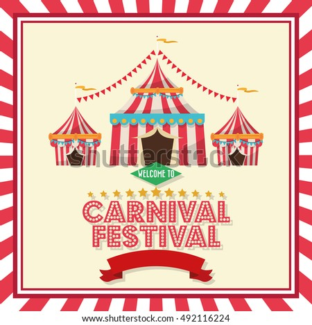 Striped tent of carnival design  sc 1 st  Shutterstock & Carnival Tent Stock Images Royalty-Free Images u0026 Vectors ...