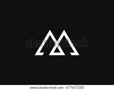 letter m logo stock vector 342055289 strong letter m logo concept creative stock vector 716