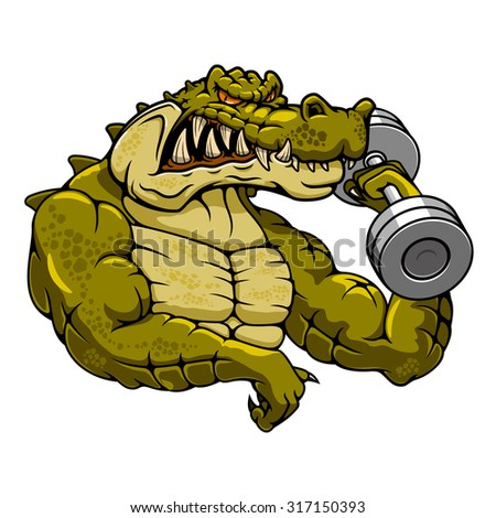 Bodybuilding animal stock images royalty free images - Cartoon body builder ...