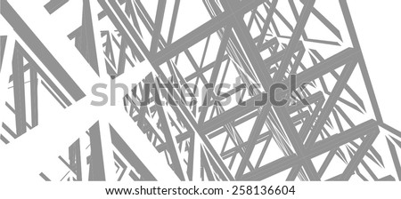 structure building construction. Industrial background