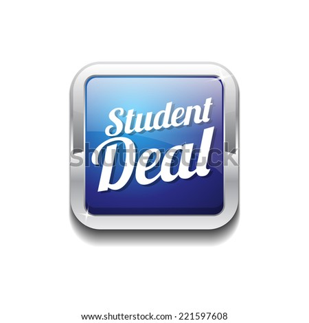 Student Deal Colorful Vector Icon Design