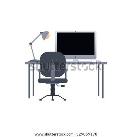 study and work desk