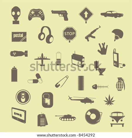 style_file_2 (vector) - stock vector
