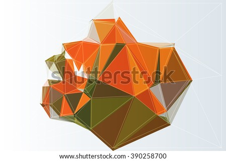 style wallpaper triangle backdrop background vector texture