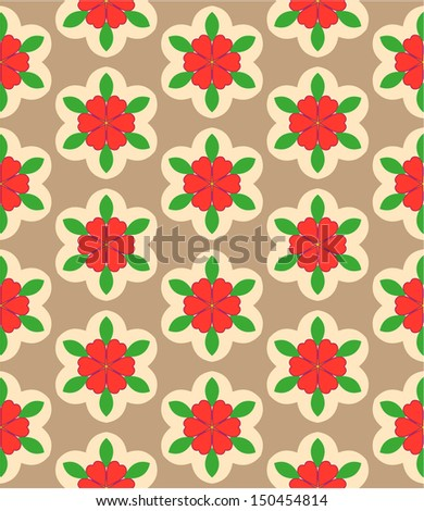 stylish bright geometric seamless pattern and graphic background , can be used in textiles, for book design, website background