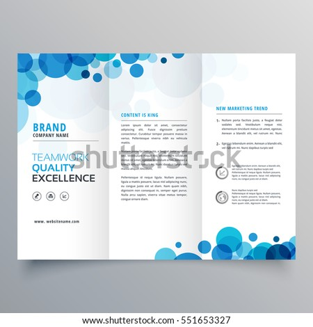 Fold Brochure Template Stock Images, Royalty-Free Images & Vectors ...