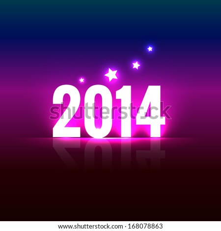 stylish creative happy new year design