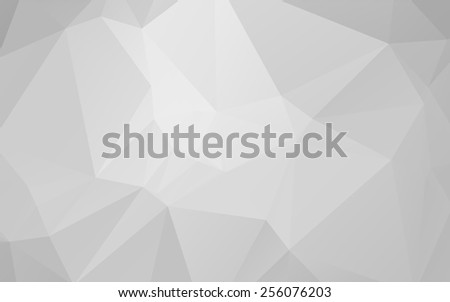 Stylish light grey abstract vector paper background