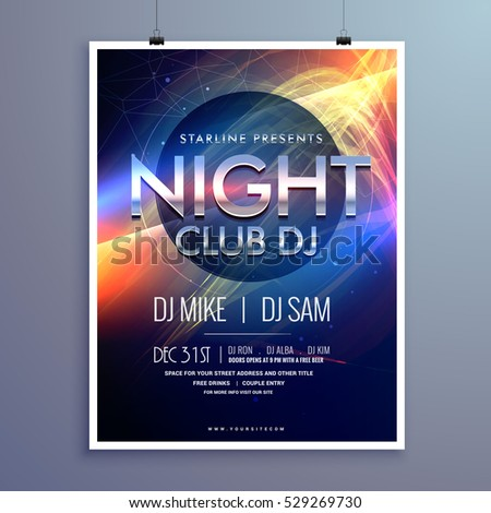 club flyer templates