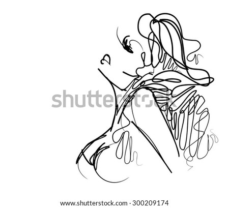 Stock Vector Vector Concept Or Conceptual Anatomy Or Anatomical Old Vintage Sketch Drawing Of A Human Auditory