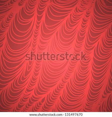 Stylish wave line seamless vector background