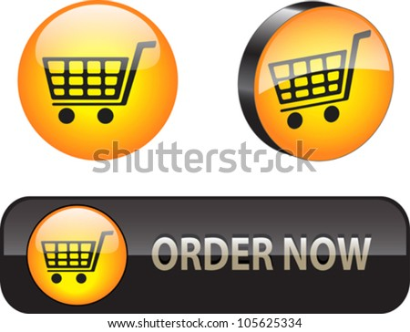 Stylish web elements for ecommerce. Vector illustration - stock vector