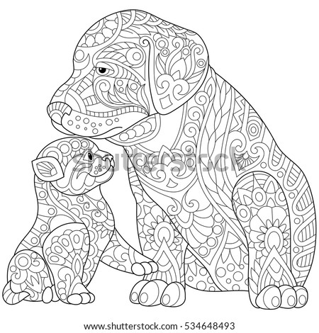 woman sitting coloring pages