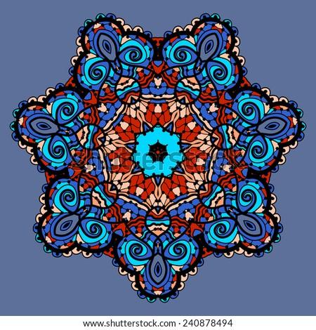 Flower Mandala Iphone Wallpaper Stylized Mandala Flower