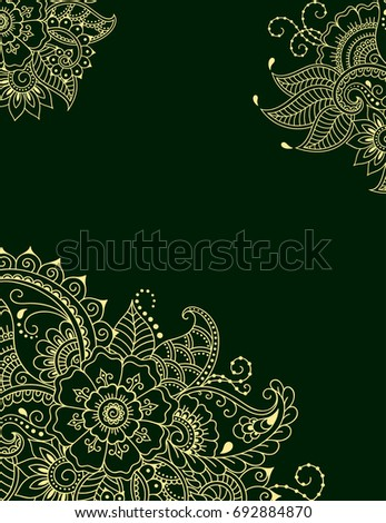 Henna Design Stock Images Royalty Free Images Amp Vectors