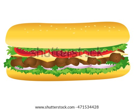 Submarine Sandwich Stock Images, Royalty-Free Images & Vectors ...