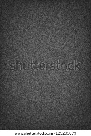 Subtle pattern seamless texture grainy noise effect on dark gray wallpaper background. Vector illustration clip-art web internet design element saved in 10 eps. Template a4 paper vertical format