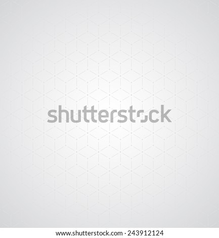 Subtle seamless background  abstract geometrical gray design - stock vector