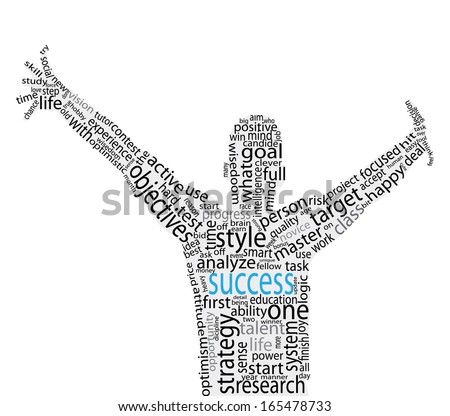 Success concept vector artwork