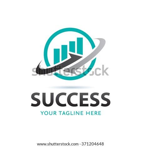 Success Logo Icon Elements Template - stock vector