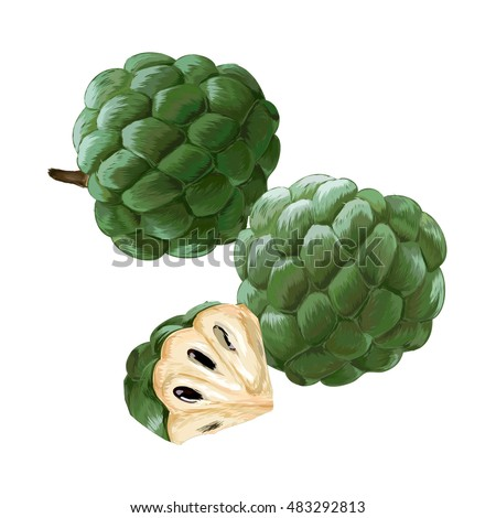how to make custard apple ripe