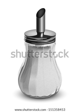 zuckerstreuer sugar bowl isolated on a white background ikea