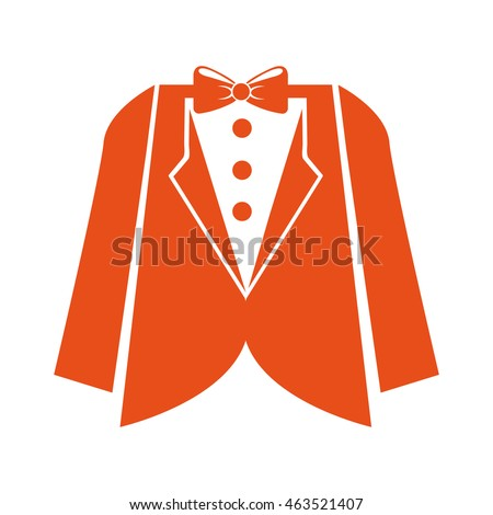 suit gentleman isolated icon vector illustration design