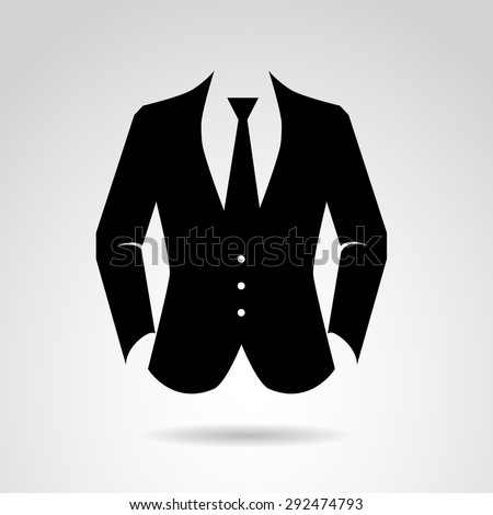 Suit icon isolated on white background stock vector 292474793 suit icon isolated on white background vector art publicscrutiny Gallery