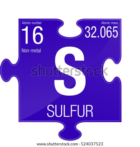 Sulfur symbol element number 16 periodic stock vector royalty free sulfur symbol element number 16 of the periodic table of the elements chemistry urtaz Image collections
