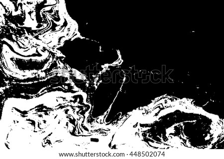Suminagashi. Vector texture of the ink. Marbling technique. Background, invitation card. Template for your design. Abstract graphics. Spotted texture. Waves. Hand drawn. - stock vector