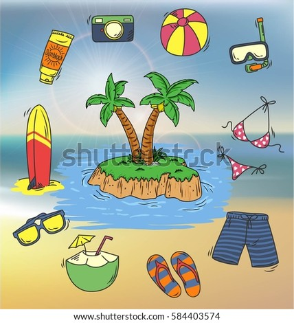summer and beach holiday