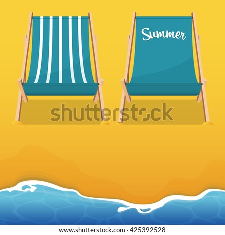Beach Chair Vector beach chair stock images, royalty-free images & vectors | shutterstock