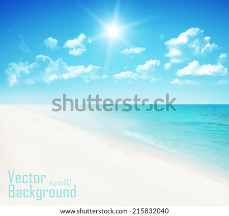 Summer design. Vector. - stock vector