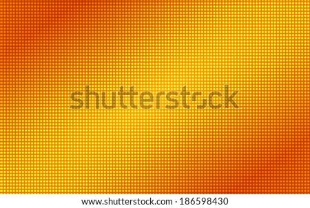 Led Screen Pattern Summer Orange Light Led Screen