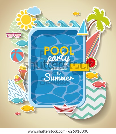 Pool Party Invitation Images was good invitation layout